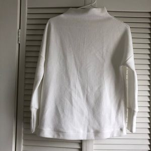 Sweaters - White Cowl Neck Sweater